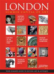 Antiques Trade Gazette issue London Summer Capital of Art