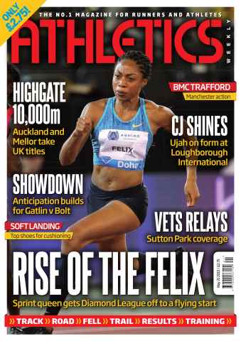 Athletics Weekly issue 21 May 2015