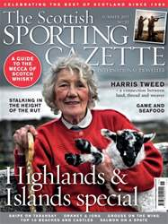 The Scottish Sporting Gazette Summer 2015 issue The Scottish Sporting Gazette Summer 2015