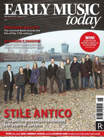 Early Music Today issue June - Aug 2015