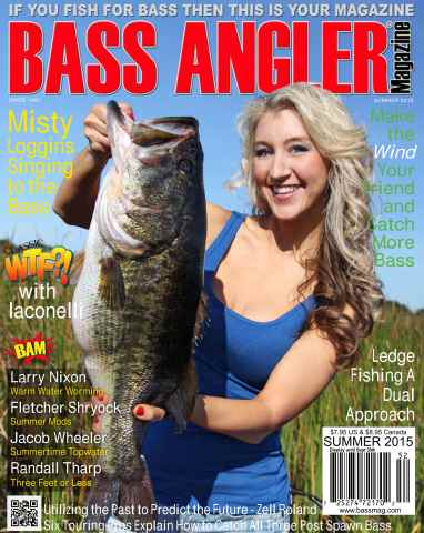 BASS ANGLER MAGAZINE issue Summer 2015