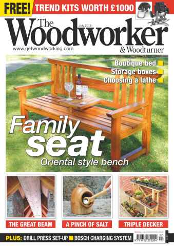 The Woodworker Magazine issue July 2015