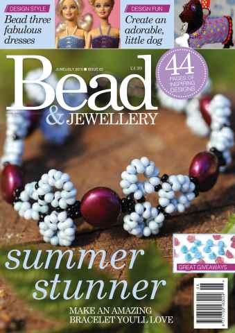 Bead Magazine issue JUNE/JUL Y 15