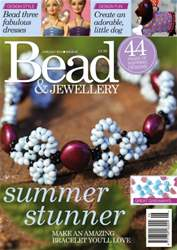 Bead Magazine issue JUNE/JUL Y 15