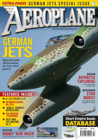 Aeroplane issue July 2015
