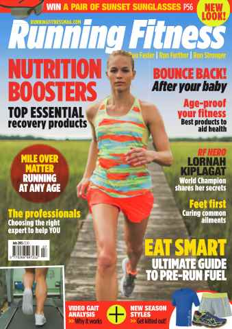 Running Fitness issue No.178 Nutrition Boosters