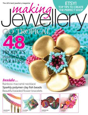 Making Jewellery issue July 2015