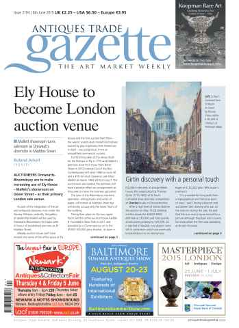 Antiques Trade Gazette issue 2194