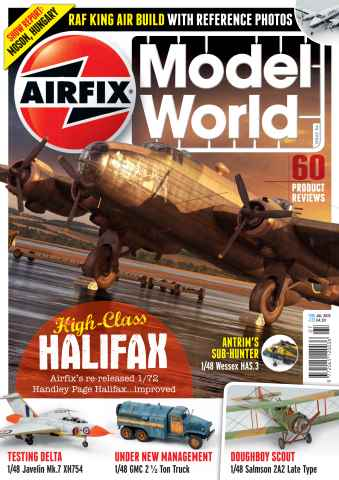 Airfix Model World issue July 2015