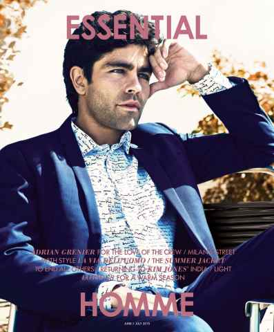 Essential Homme issue June-July 2015