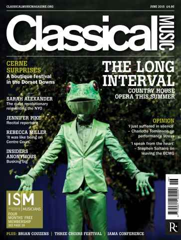 Classical Music issue June 2015