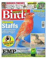 Cage & Aviary Birds issue No.5857 Stateside Staffs