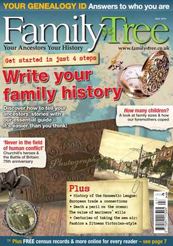 Family Tree issue Family Tree July 2015