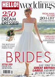Hello! Magazine issue HELLO! BRIDES