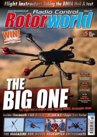 Radio Control Rotor World issue Jul 111