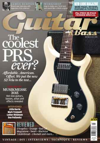 Guitar & Bass Magazine issue Jul-15