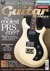 Guitar & Bass Magazine issue Jul-15