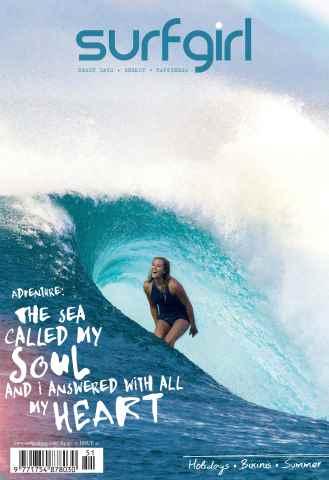 SurfGirl Magazine issue SurfGirl issue 51