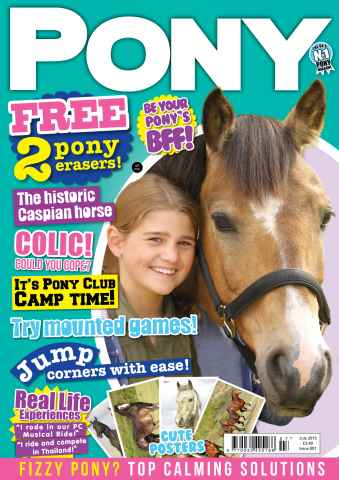 Pony Magazine issue PONY Magazine – July 2015