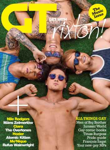 Gay Times issue July 15