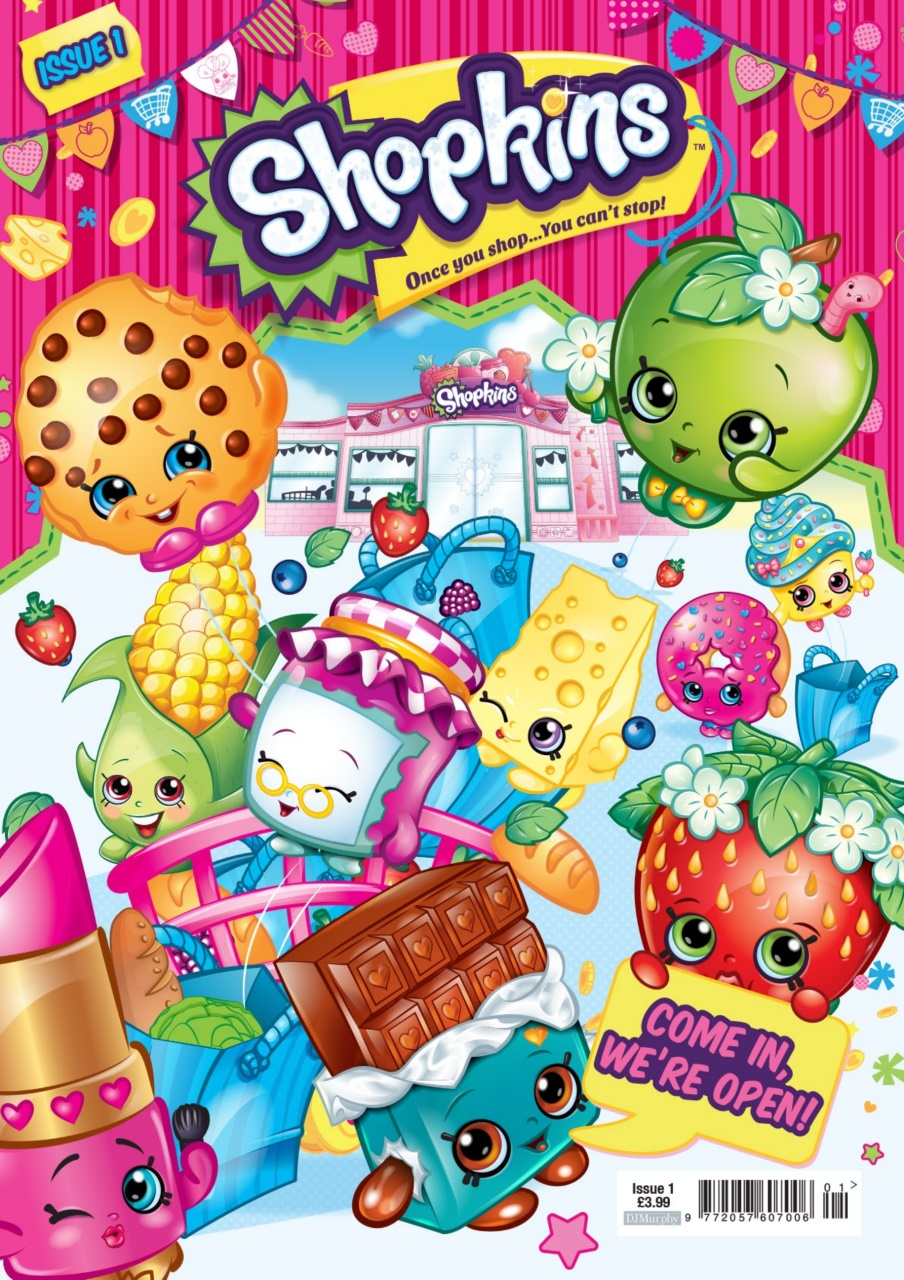 Shopkins magazine shopkins issue 1 subscriptions - Shopkins wallpaper ...