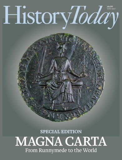 History Today issue July 2015
