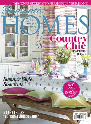 Romantic Homes issue July 2015