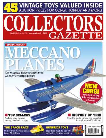 Collectors Gazette issue July 2015