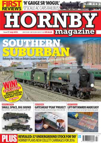 Hornby Magazine issue July 2015