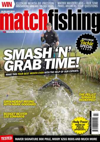 Match Fishing issue July 2015
