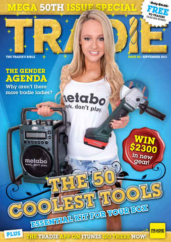 Tradie issue Tradie September 2011
