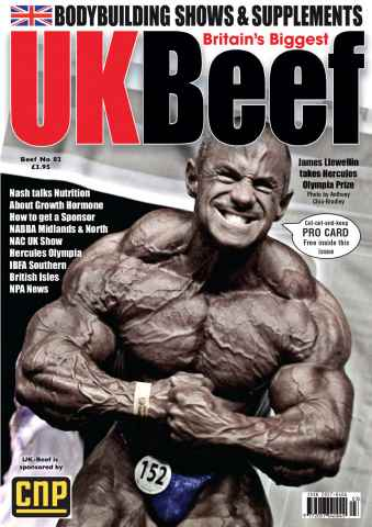 The Beef Magazine issue July/August