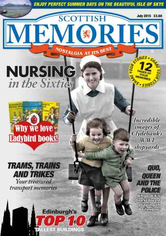 Scottish Memories issue July 2015