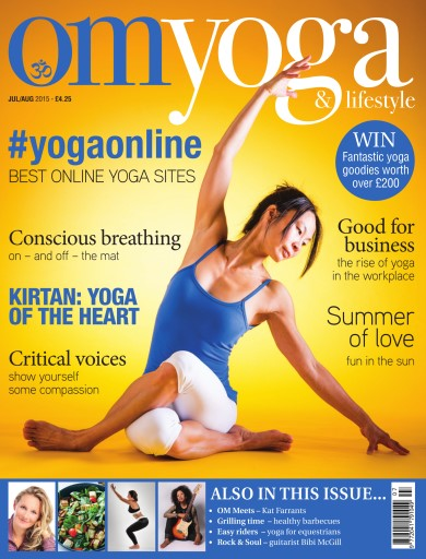 OM Yoga UK Magazine issue Jul/Aug-15