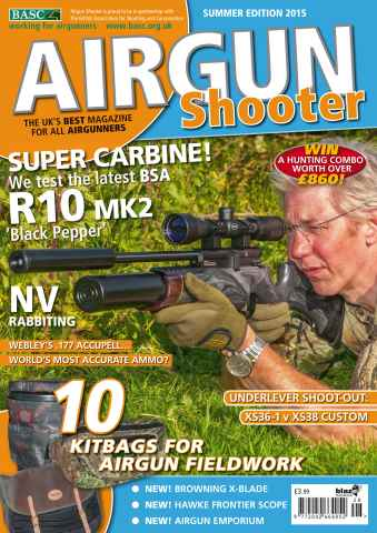 Airgun Shooter issue Summer 2015