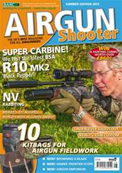 Airgun Shooter issue Summer 2015