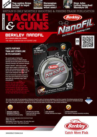 Tackle & Guns issue September 2011