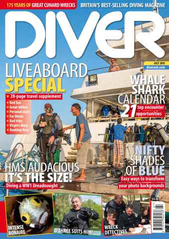 DIVER issue JULY 2015