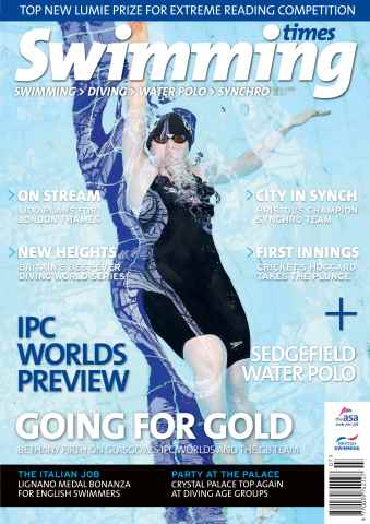 Swimming Times issue July 15