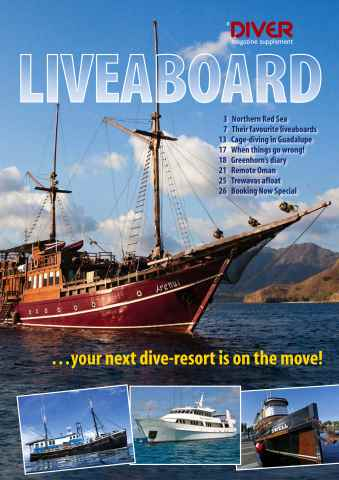 DIVER issue LIVEABOARD Supplement