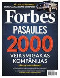 Forbes Maijs '15 issue Forbes Maijs '15