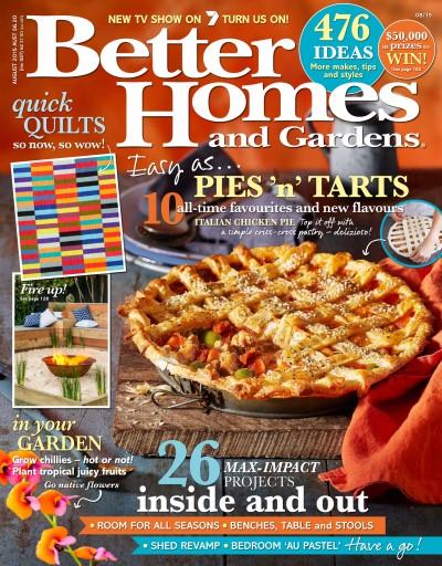 Better Homes and Gardens Australia Magazine August 2015