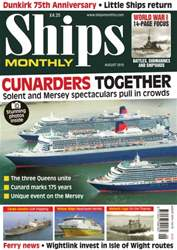 Ships Monthly issue No.608 Cunarders Together
