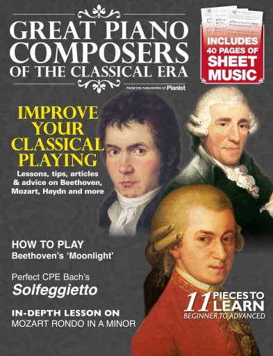 Pianist issue Great Piano Composers of the Classical Era