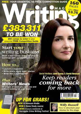 Writing Magazine issue October 2011