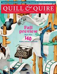 Quill & Quire issue July/August 2015
