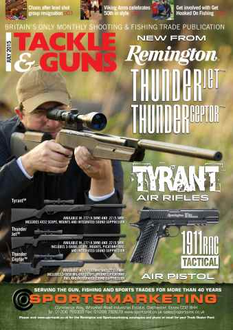 Tackle & Guns issue July 2015