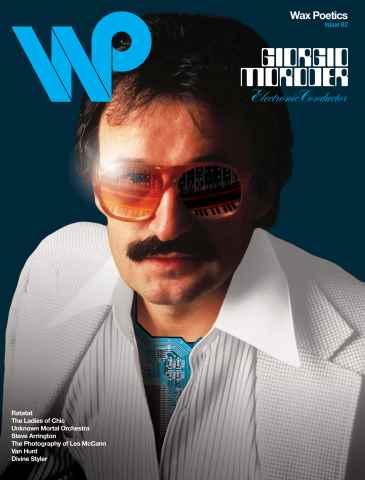 Wax Poetics issue Issue 62 (Giorgio Moroder b/w Ratatat)