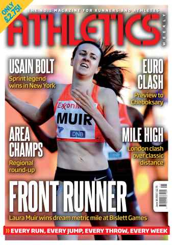 Athletics Weekly issue 18 June 2015