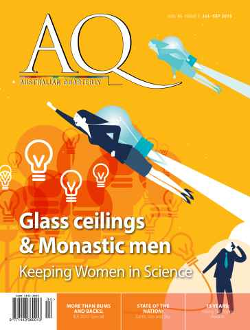 AQ: Australian Quarterly issue AQ: Australian Quarterly 86.3